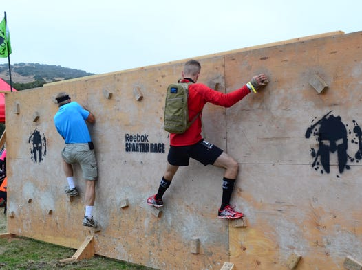 Reebok Spartan Race 2014 at Toro Park