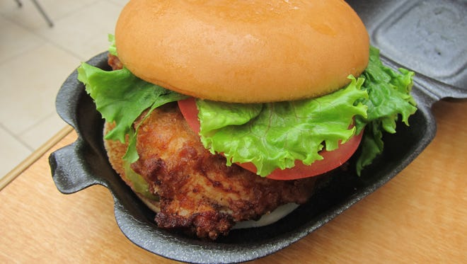 The sandwich that made Chic-fil-A famous, a fried boneless breast portion on a tasty bun.