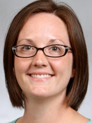 Dr. Kyla Pepper, a family medicine physician at the