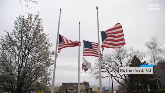 On Friday April 03, 2020 New Jersey Governor Phil Murphy orders all flags to half-staff indefinitely to honor coronavirus victims.