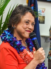 Gubernatorial candidate for governor, Lou Leon Guerrrero,
