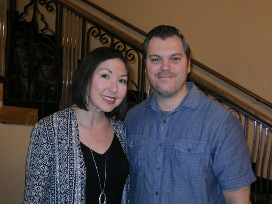 "Jennifer Reimer and Jeremy Reimer, both of Redding, attend the ""Gone with the Wind"" film party Feb. 12 at the Cascade Theatre in Redding."