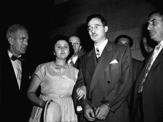 AP ROSENBERG SPY CASE A FILE USA NY