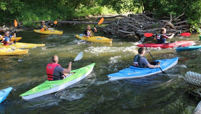 There'll be plenty of water recreation on June 3 for Paddlepalooza 2017, an eight-mile canoe and kayak race on the Clinton River from Auburn Hills to Rochester Hills. Info: http://www.auburnhills.org/  or http://www.rochesterhills.org/.