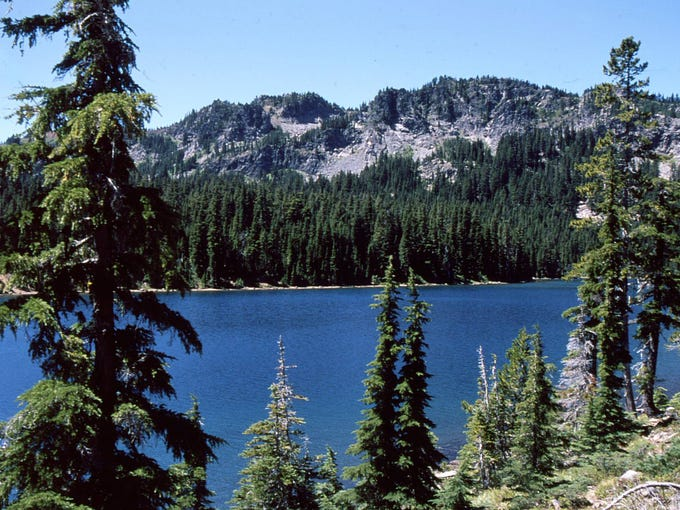 Carl Lake serves as the gateway to Table Lake, a rarely visited and completely unburned corner of the wilderness.