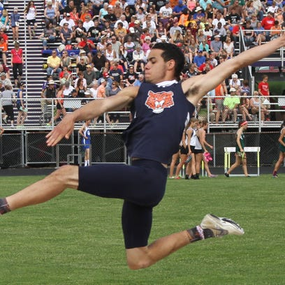 Galion's Houston Blair earned a state berth in the