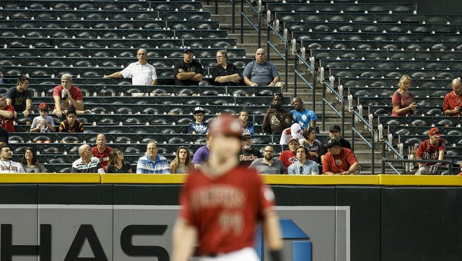 The Diamondbacks and their fans didn't have much to celebrate during the first half of the MLB season.