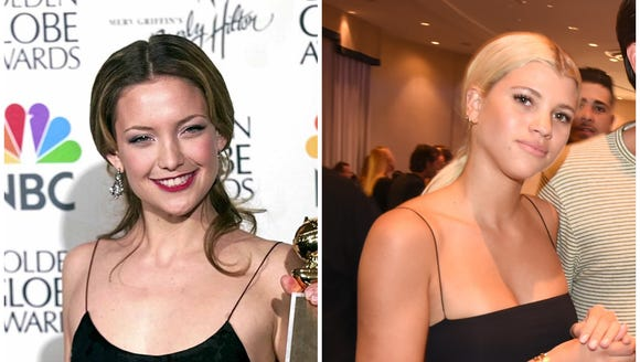 Spaghetti strap dresses and tops that were a Kate Hudson