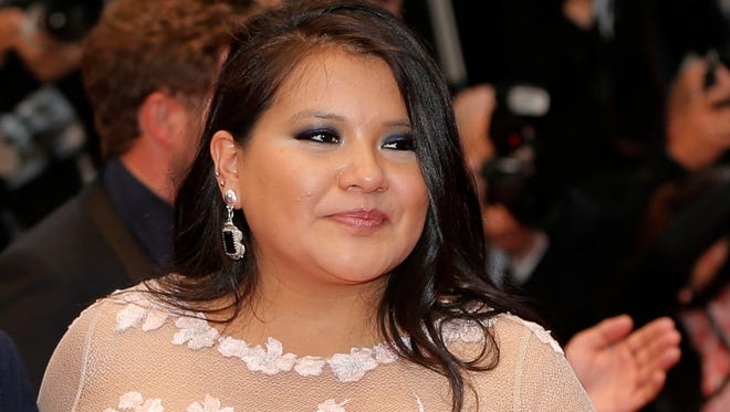 Actress Misty Upham arrives for the screening of the film 'Jimmy P.: Psychotherapy of a Plains Indian,' at the 66th international film festival, in Cannes, southern France.