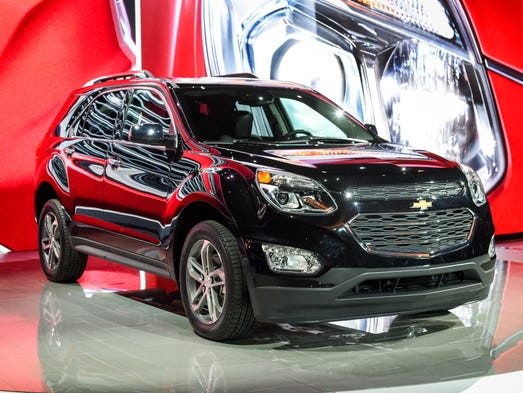 Chevrolet introduced the refreshed 2016 Equinox compact