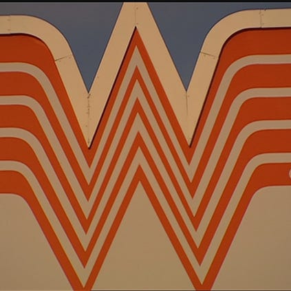 Whataburger sign