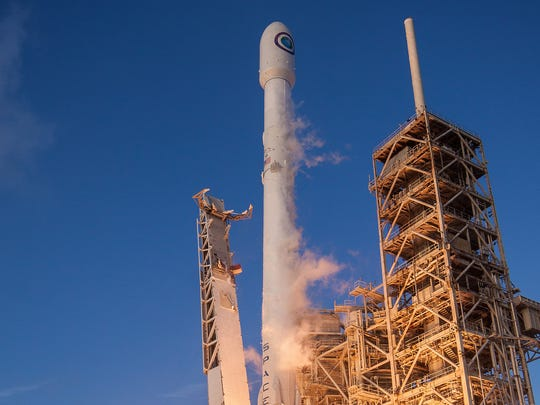 On May 1, a SpaceX Falcon 9 rocket launched a national security mission from Kennedy Space Center for the National Reconnaissance Office.