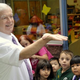 Glenn Clark, principal of the Academy of St. Therese in Cresskill, got the first day of school off to a flying start on Sept. 6 when he released a monarch butterfly to the delight of some of the preschool children who were present. Over the summer, a monarch butterfly arrived and laid her egg at the school's butterfly garden. With a gestation period of only four days, the eggs soon hatch and begin their larvae stage. This is followed by the chrysalis phase and then to an adult butterfly. The timing was perfect, therefore, to release the first monarch the very morning students arrived for the new school year.