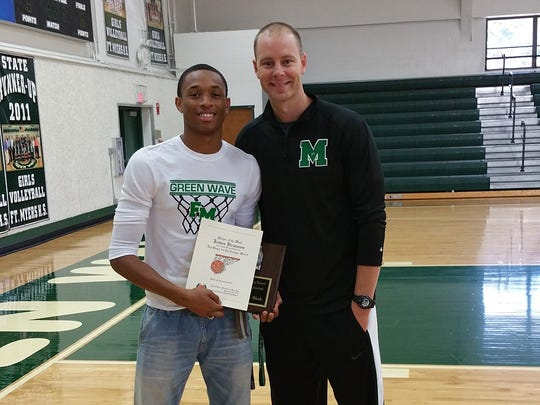 Fort Myers senior basketball player James Brunson and