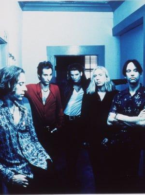 Detroit band Sponge in 1994: Tim Cross, Vinnie Dombroski, Jimmy Paluzzi, Mike Cross and Joey Mazzola.