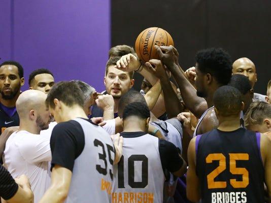 Phoenix Suns Practice