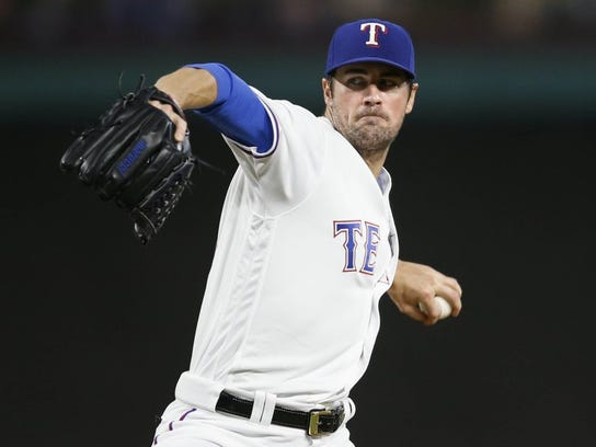Cole Hamels is 33-12 since being acquired by the Texas Rangers from Philadelphia.