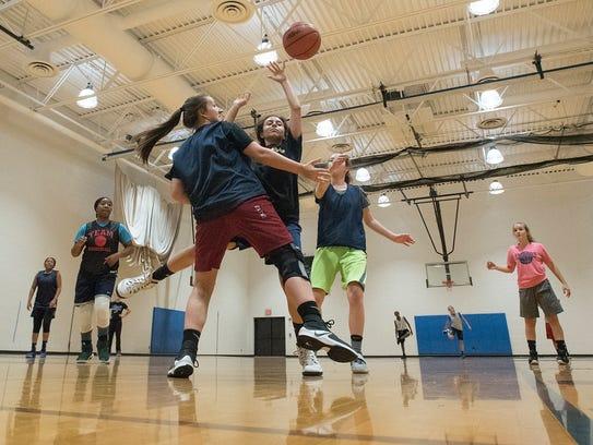 Farmington's girls basketball team, under the leadership of first-year head coach Laura Guzman, will play in the OAA Blue Division this season.