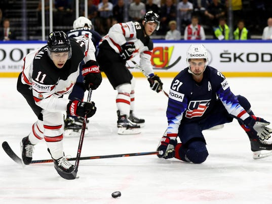 USA v Canada - 2018 IIHF Ice Hockey World Championship Bronze Medal Game