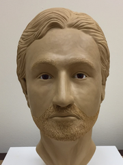 This facial reconstruction of a 1989 suspected murder victim was released in 2017.