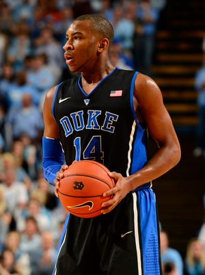 Duke Blue Devils guard Rasheed Sulaimon will be back in 2014-15.