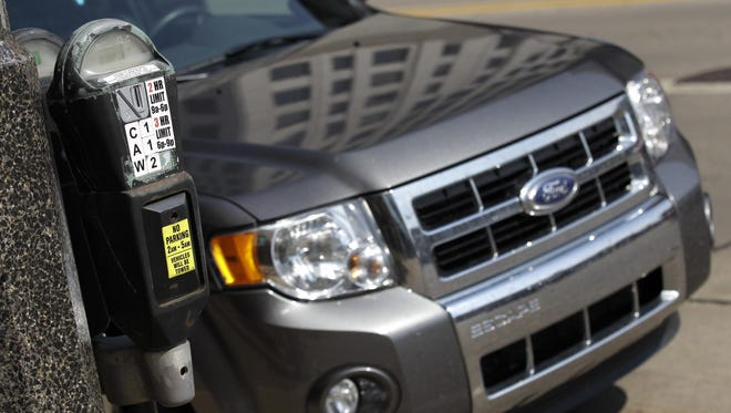 Appleton officials are considering a proposal to stop the enforcement of on-street parking meters at 6 p.m. The enforcement currently extends from 9 a.m. to 9 p.m. Monday through Saturday.