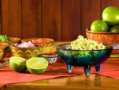 Guacamole side dish at TQLA in Mesa.