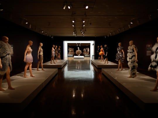 """The second hall in the new """"Iris van Herpen: Transforming"""