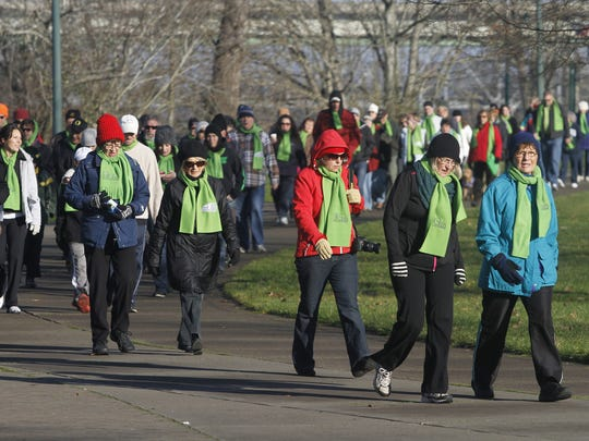 CrossWalk takes place 10 a.m. Friday, Jan. 1, at Riverfront Park.