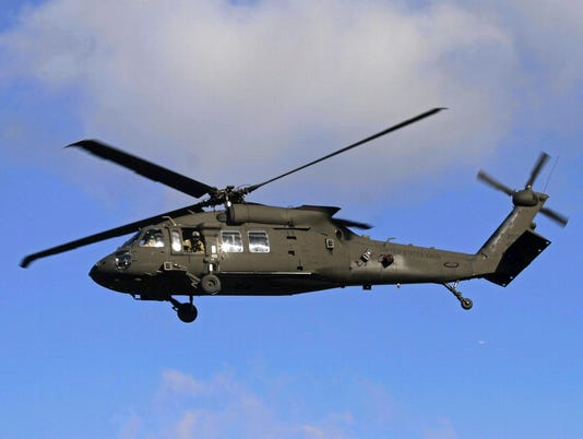 EPA (FILE) LATVIA USA BLACK HAWK CRASH DIS DEFENCE ACCIDENTS (GENERAL) LVA
