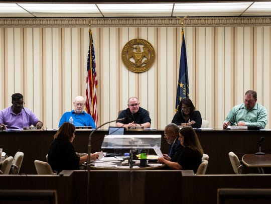 The Board of Zoning Appeals meeting holds its monthly
