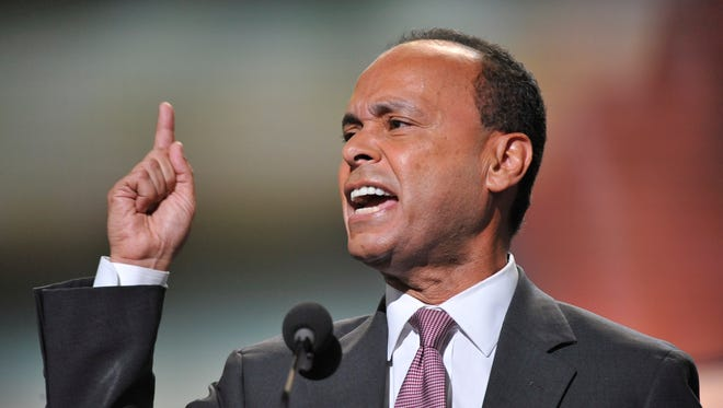 Rep. Luis Gutierrez, D-Ill., was the opening speaker for the second night of the 2012 Democratic convention in Charlotte.