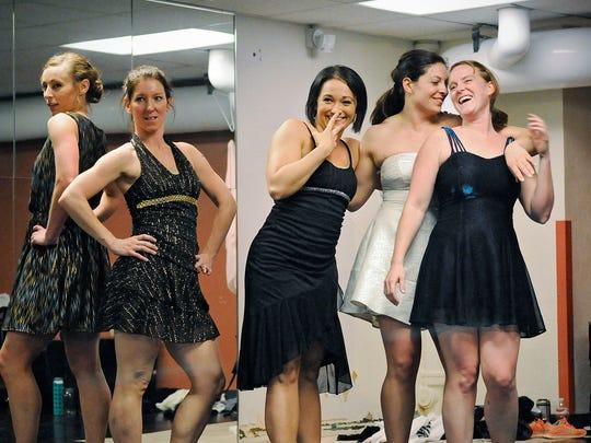 Cast members of the Minnesota Dance Ensemble production