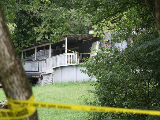 This is the property in Campbell County where a 40-year-old man was fatally shot Sunday morning.