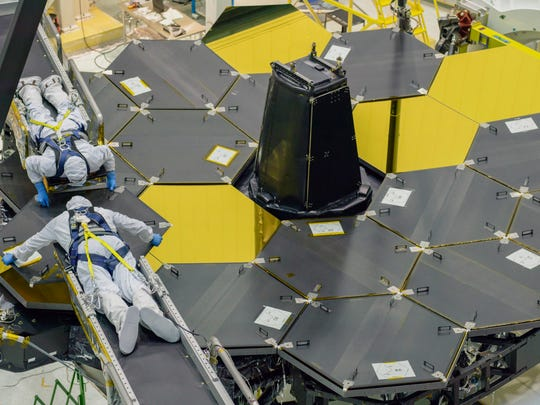 Harris scientists complete work on James Webb Space Telescope