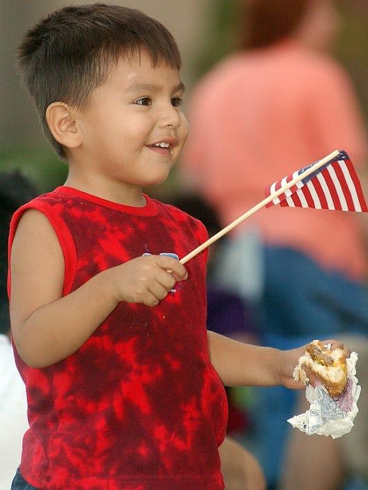 2 July Fourth parade