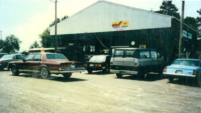 Nichols Service in 1979, when it moved to State Street in Brockport, where it remains today.