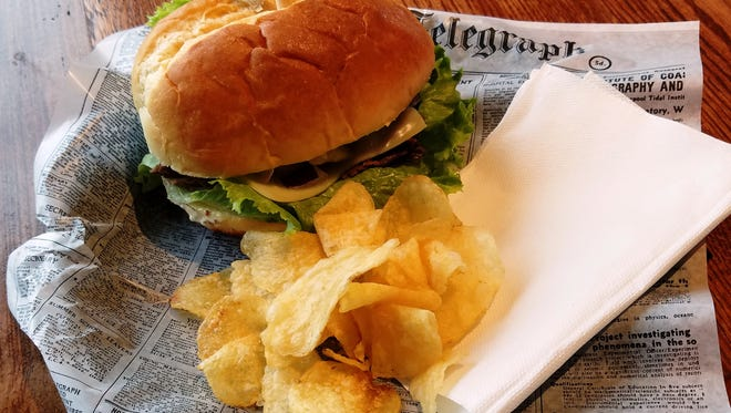 Black kettle beef sandwich from Coffeeville Company in the Town of  Jackson.