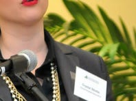 Guest speaker Crystal Stickle, Florida Hospital Association vice president of government affairs. The Space Coast Health Foundation held Community Conversation on Health: A Policy Proposal for HealthCare Coverage. The event was held at the Suntree Office Tower on Thursday morning, February 26th.