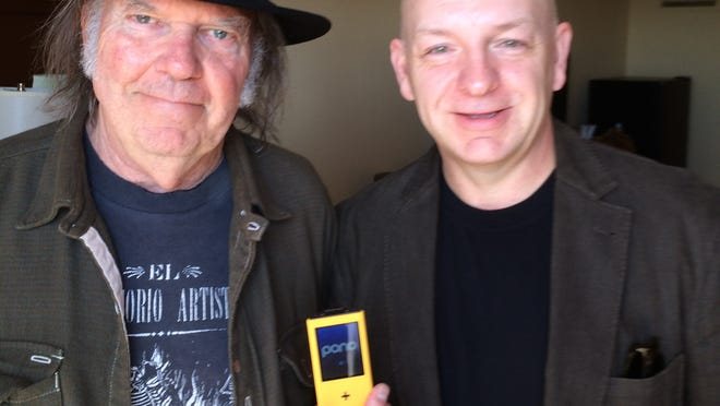 Neil Young and Mike Snider