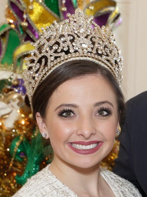 Queen Evangeline LXXVII Chistine  Elizabeth Beaullieu Friday, Feb. 24, 2017 in Lafayette.