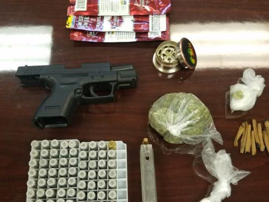 Scott Police found more than $1,000 in illegal drugs