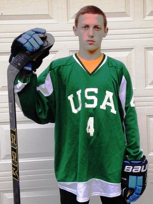 Cooper Zech will be following his brother Zach to the NAHL Odessa (Texas) Jackalopes.