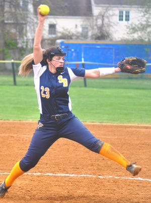Saddle Brook junior Nicole Streppone has been sharing time in the circle.