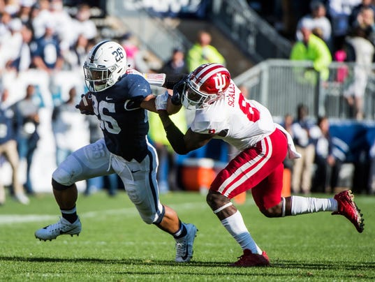 NCAA Football: Indiana at Penn State