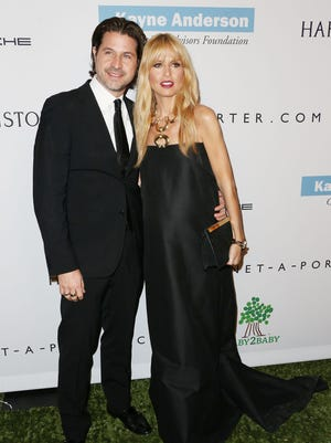 Roger Berman and Rachel Zoe attend the Second Annual Baby2Baby Gala at the Book Bindery on Nov. 9, 2013 in Culver City, Calif.