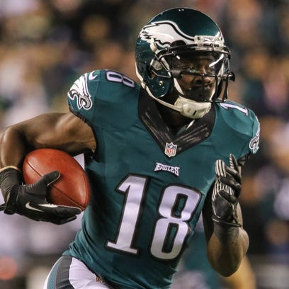 Jeremy Maclin was the Eagles' top receiver last season, with a career-high 85 catches for 1,319 yards.