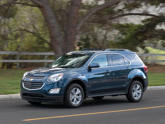2016 Chevrolet Equinox tied with the 2016 GMC Terrain in the Compact SUV category in J.D. Power's Initial Quality Study.