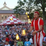 Juggling stilt-walkers, fireworks, music and more attract thousands of people to St. Cecilia's Labor Day Festival, which will be held Saturday through Monday, Sept. 5-7.