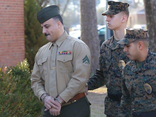 Marine-Desertion Trial